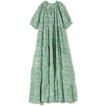 【シップス/SHIPS】 mii:スクリーンフラワーロングドレス