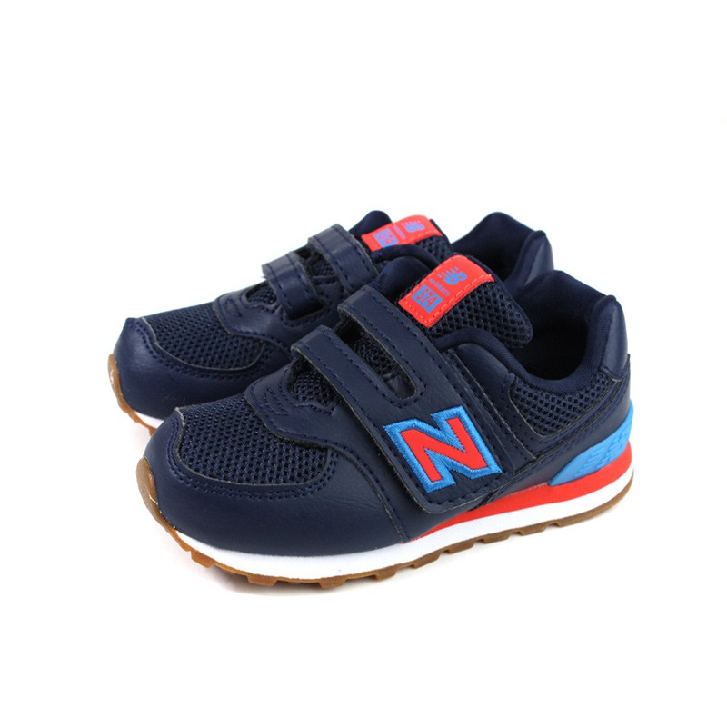 New Balance 574系列 運動鞋 跑鞋 深藍色 小童 童鞋 no776 13.5~15cm