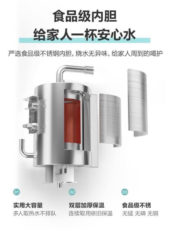 立式雙門冰溫熱制熱家用飲水機迷你型節能型