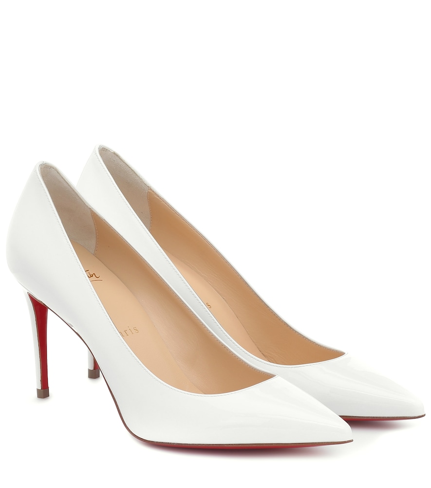 Kate 85 patent-leather pumps