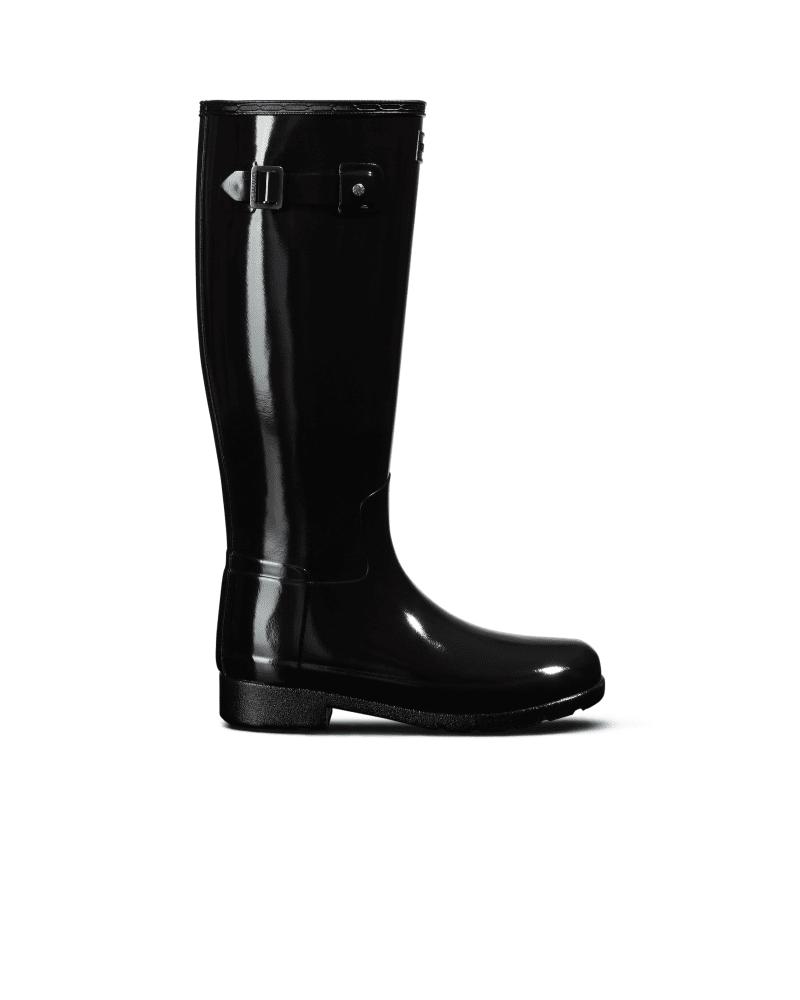 Glänzende Hohe Original Refined Stiefel Für Damen