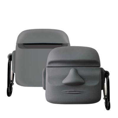 AirPods Pro 可愛俏皮 石像造型 藍牙 耳機 保護套-石像*1