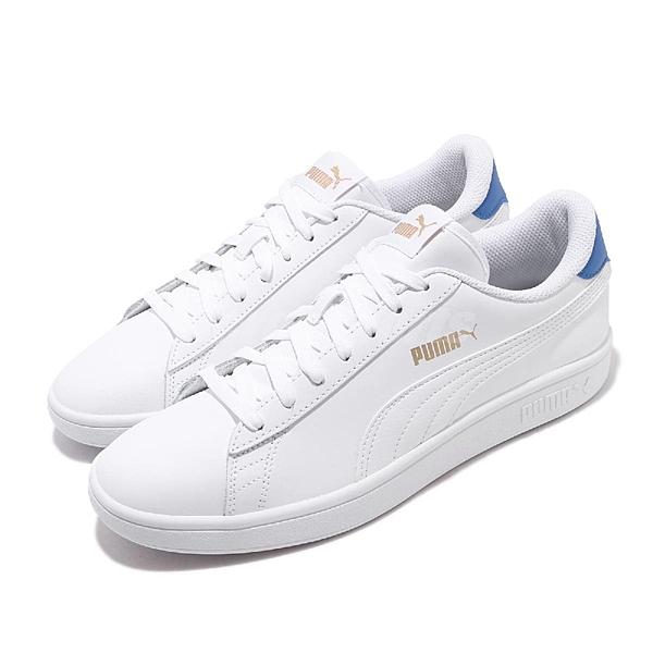 PUMA SMASH V2S 白 休閒鞋 36521518