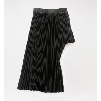 【ラブレス/LOVELESS】 【JOHN LAWRENCE SULLIVAN】WOMEN Satin Pleated Skirt 2C026-0620-16