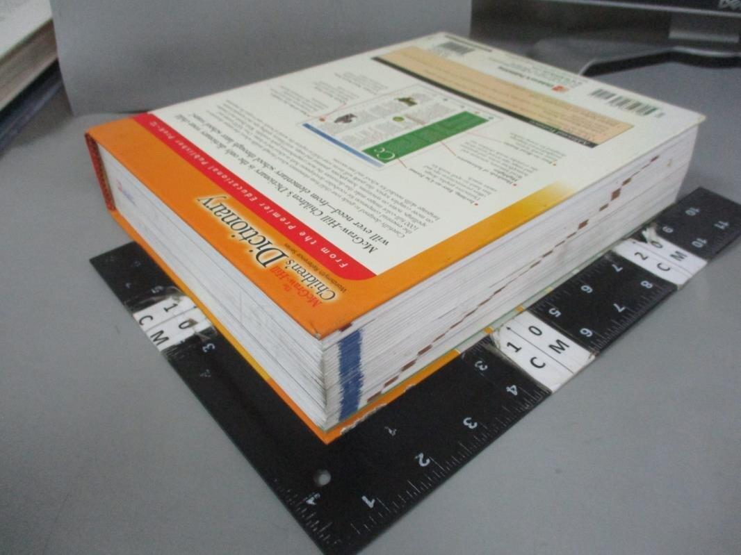 【書寶二手書T3/字典_EW2】The McGraw-Hill Children's Dictionary_Wordsmyth Collaboratory