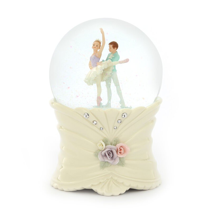 哈比屋 雙人芭蕾 水晶球音樂盒