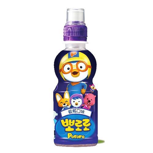 韓國paldo啵樂樂乳酸飲料235ml(藍莓)【愛買】