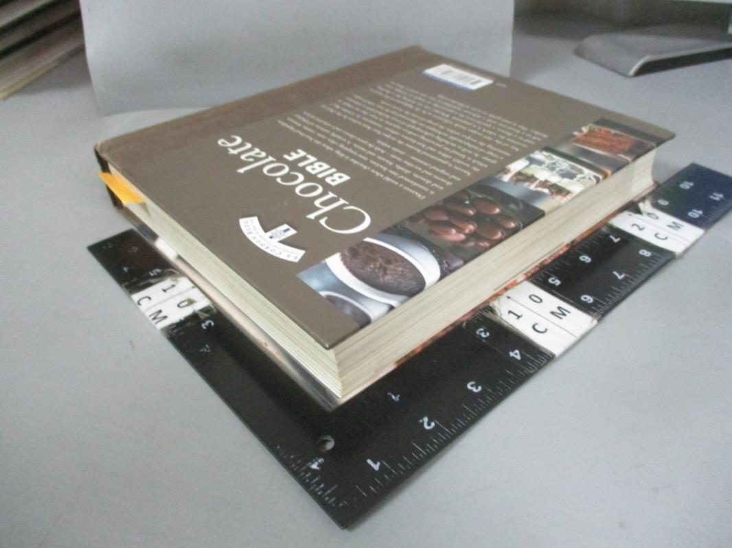 【書寶二手書T3/餐飲_E3V】Chocolate Bible