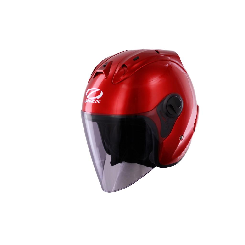【ONZA】MAX R1 亮光酒紅 RC013 R帽 防塵帽套 四分之三 3/4 雙D扣環