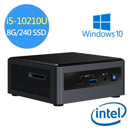 【Intel 英特爾】NUC平台【UDNUC10i5FNH4】INTEL四核240G_SSD迷你電腦