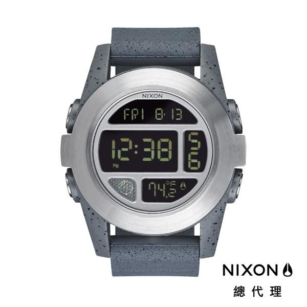 NIXON UNIT EXP 銀灰 運動玩家電子錶 潮人裝備 潮人態度 禮物首選