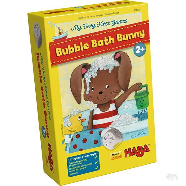【HABA 德國桌遊】兔子愛泡澡 Bubble Bath Bunny