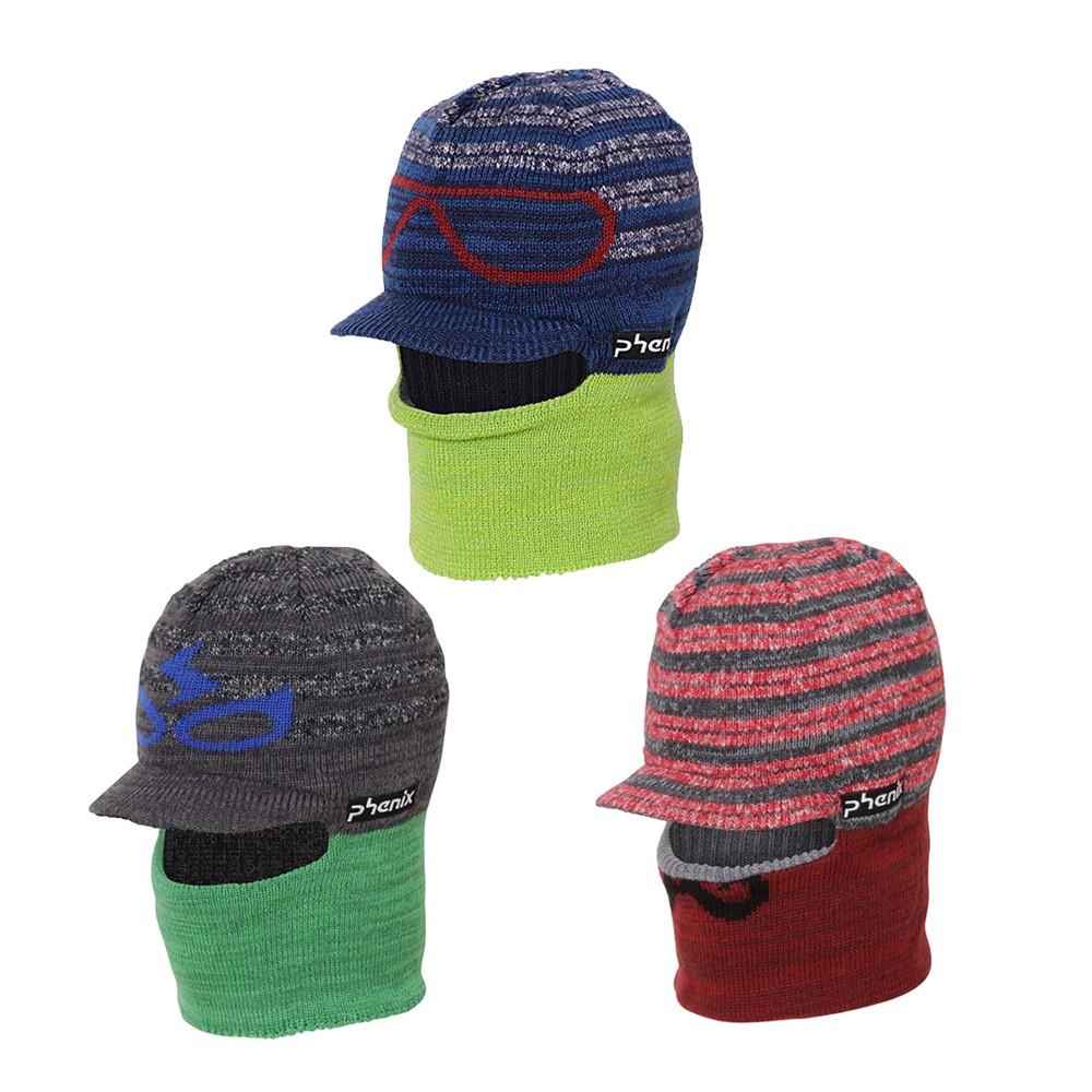 【PHENIX】男童兩用保暖針織帽 [三色可選] 男童帽 毛帽 針織帽 | PHHA2KAE01