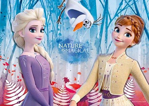 Frozen冰雪奇緣2  心形拼圖200片 HPD0200-018