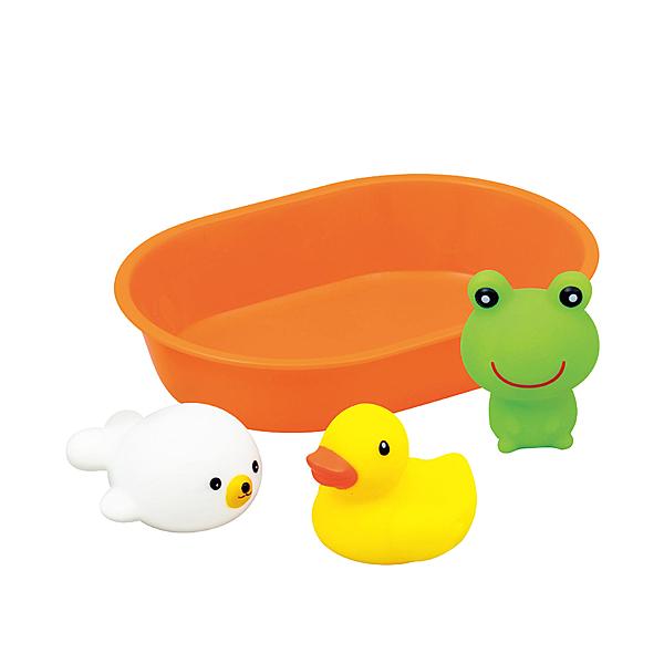 Toyroyal樂雅 - 歡樂洗澡組 橙