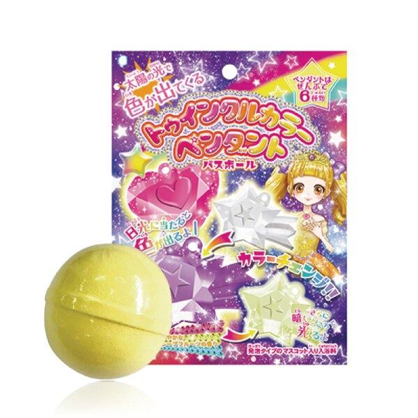 日本 NOL 閃亮變色吊飾入浴球|沐浴球