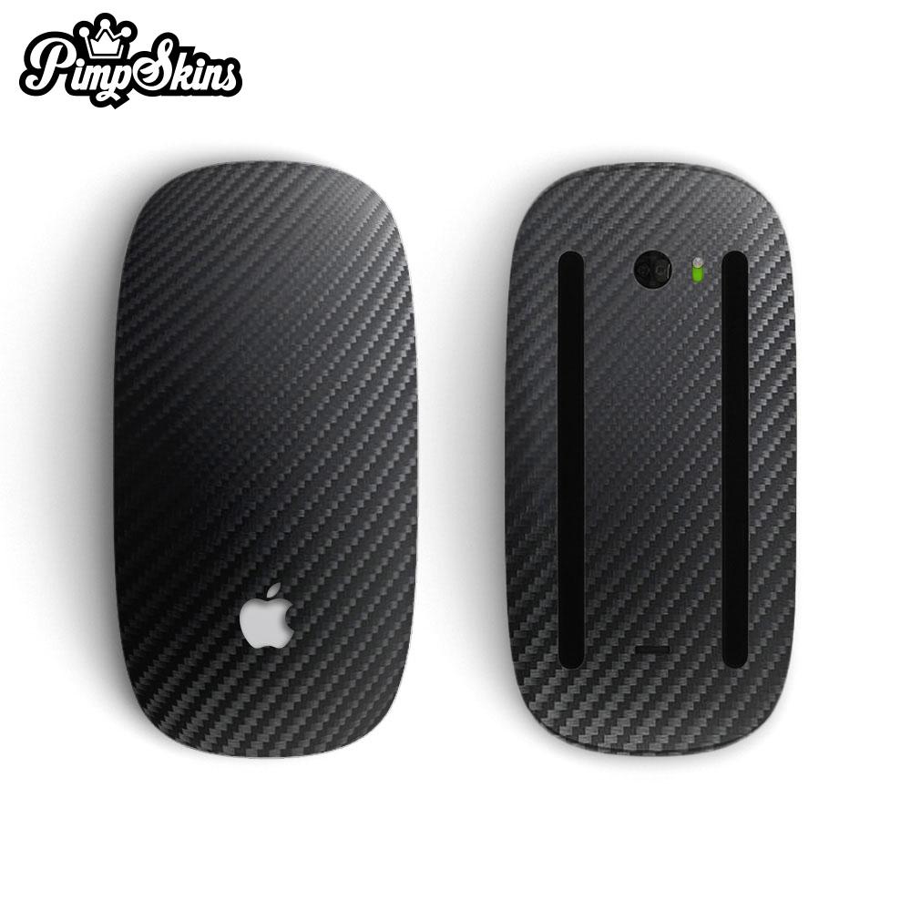 [PimpSkins] Apple Magic Mouse 2 專用貼膜貼紙 碳纖黑