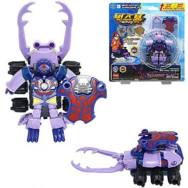 《 超甲蟲戰記 》BUGSBOT 變形系列 超能甲蟲王 -吉拉帕 / JOYBUS玩具百貨