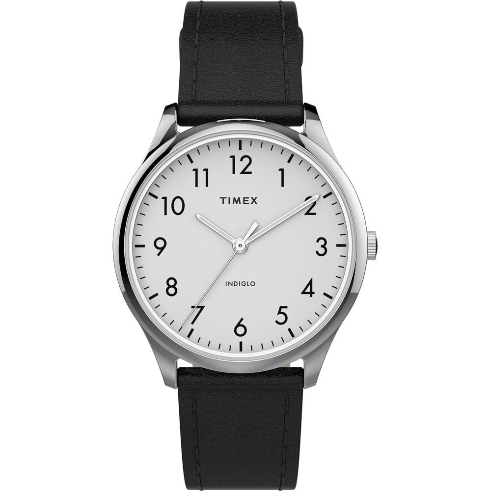 【TIMEX】天美時 Easy Reader系列 簡約手錶 (黑 / 白 TXTW2T72100)