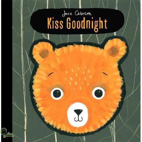 Jane Cabrera: Kiss Goodnight【禮筑外文書店】(精裝)[5折]