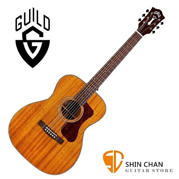 Guild 吉他 Guild OM-120 全單板吉他(OM桶身)附Guild原廠吉他袋/軟Case 總代理公司貨