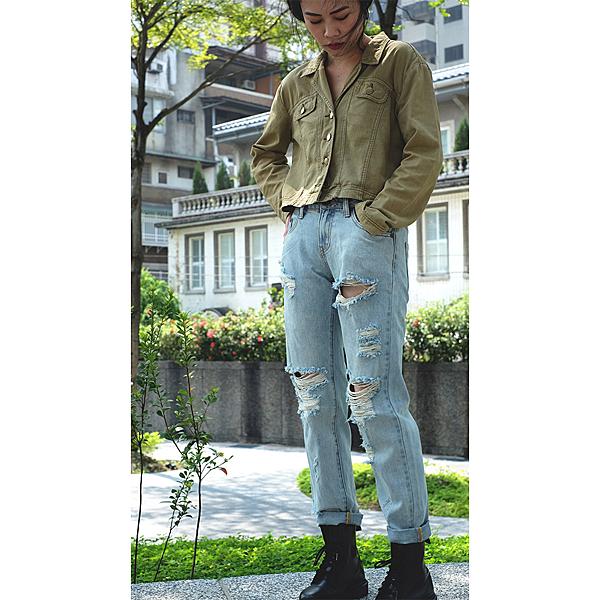 OneTeaspoon 牛仔褲 LE HOMME AWESOME BAGGIES- 女(藍)