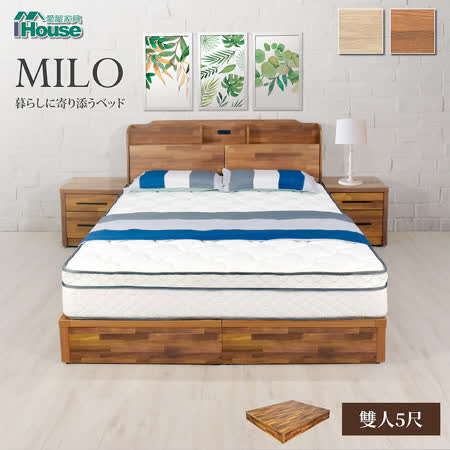 IHouse 米洛耐用床底架 雙人5尺