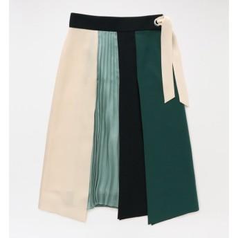 【ラブレス/LOVELESS】 カラーブロッキングスカート