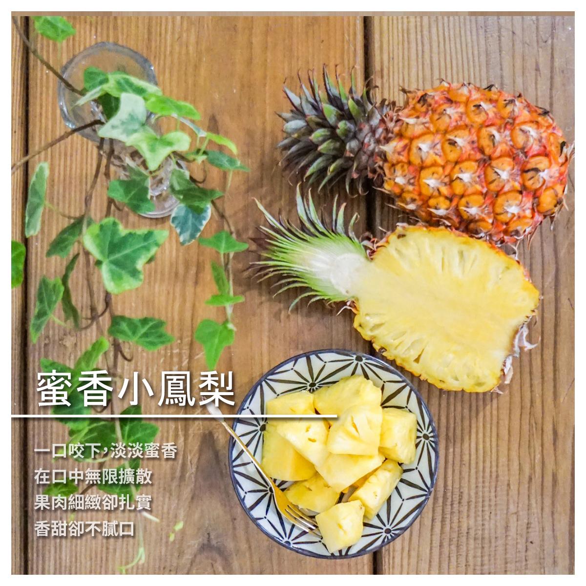 【17吃旺來】蜜香小鳳梨/1箱/18斤
