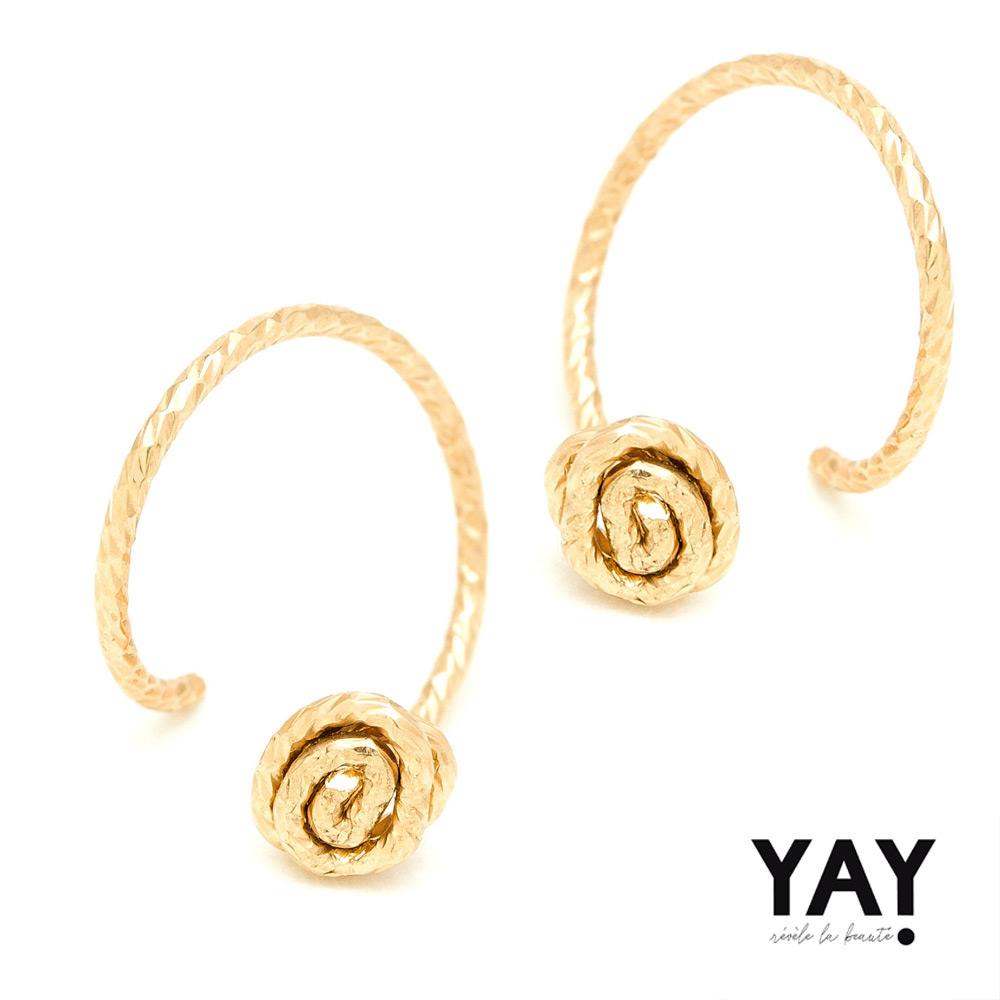 ● 法國巴黎輕珠寶品牌● IG時尚部落客激推● 高品質14K包金● 時尚穿式耳環設計● 附原廠飾品收納盒