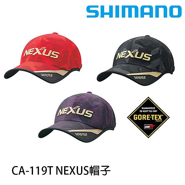 漁拓釣具 SHIMANO CA-119T NEXUS [帽子]