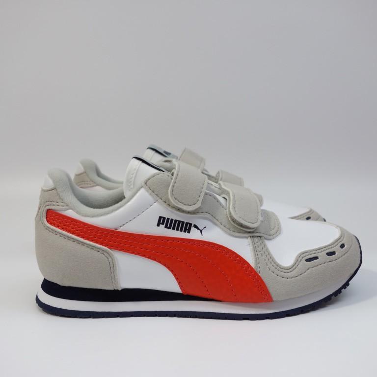 PUMA CABANA RACER SL V PS 中童鞋 360732 76 兒童 休閒鞋 復古鞋【DELPHI】