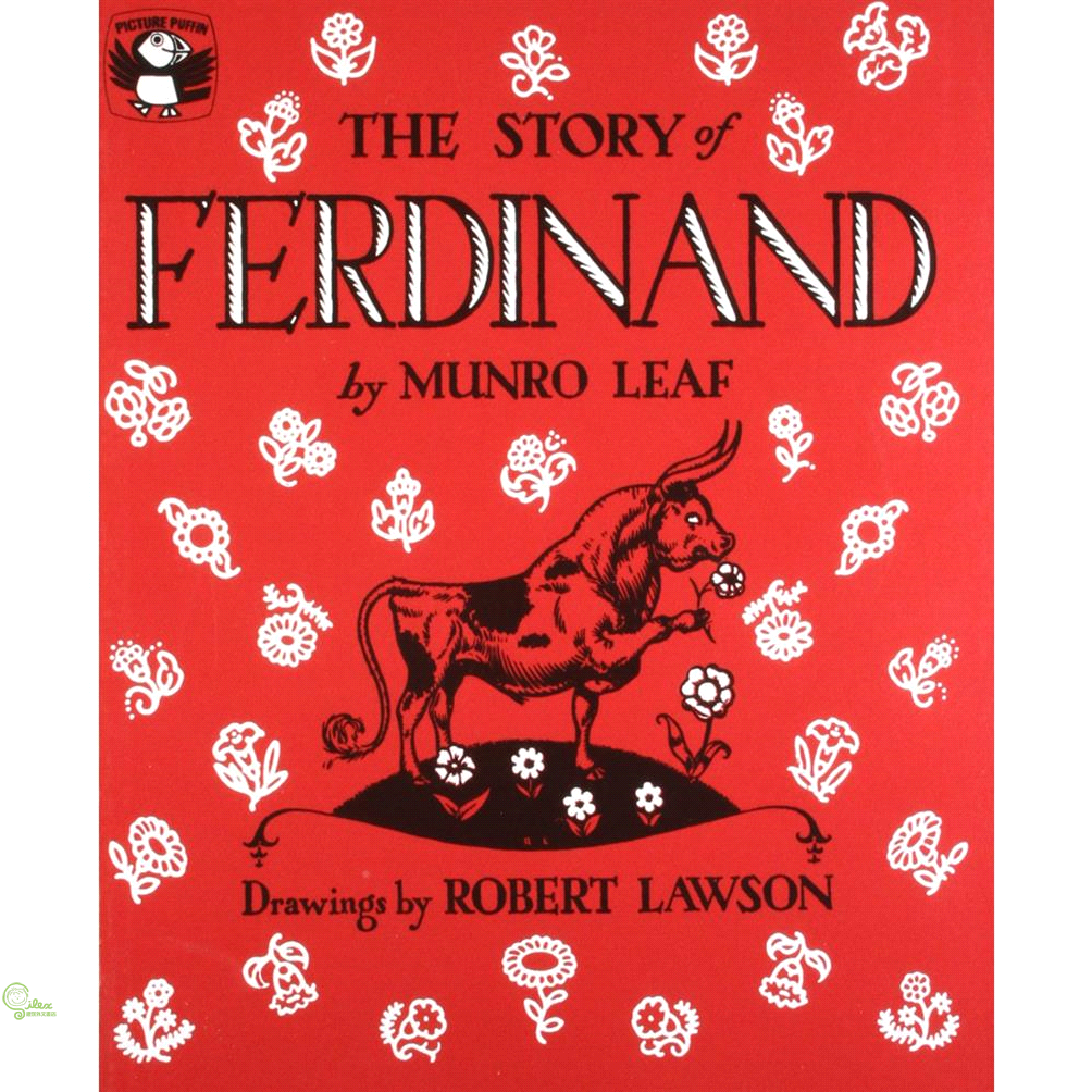The Story of Ferdinand 廖彩杏老師推薦有聲書第2年第28週【禮筑外文書店】[73折]