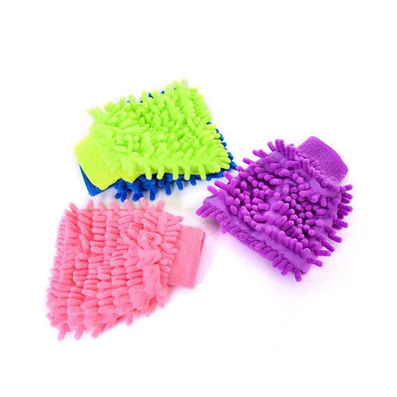 單面除塵手套/清潔手套/抹布.乾濕兩用/不掉棉絮/柔細不刮傷表面【DM160】