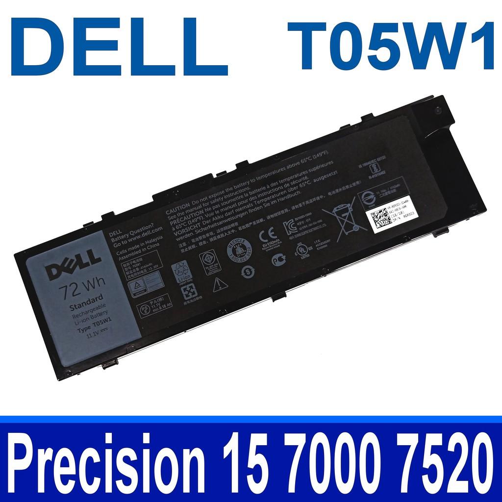 DELL T05W1 6芯 原廠電池 0FNY7 1G9VM GR5D3 M28DH MFKVP RDYCT TO5W1