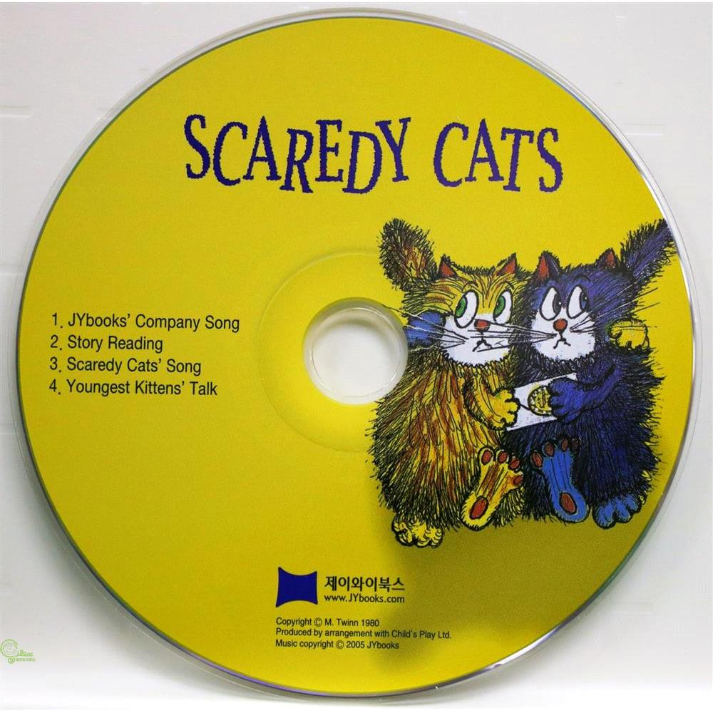 Scaredy Cats (1CD only) 廖彩杏老師推薦有聲書第2年第2週【禮筑外文書店】[79折]