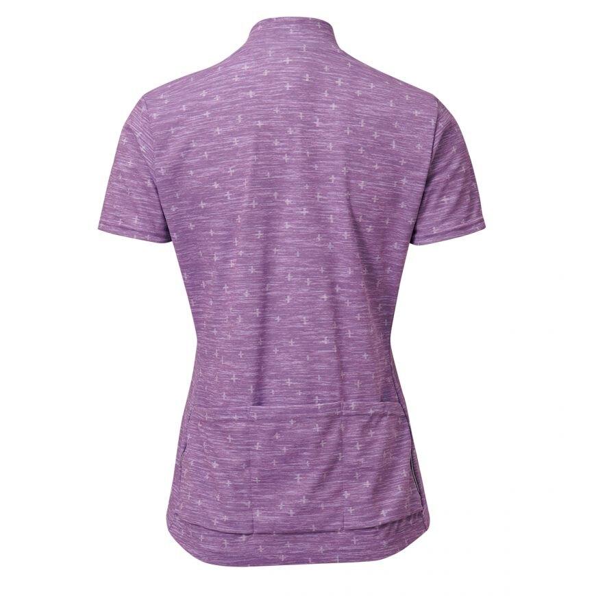 【7號公園自行車】PEARL IZUMI W334-B-22 女性休閒款短袖車衣(紫)