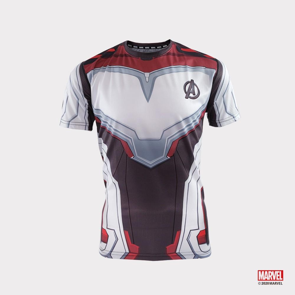 MARVEL漫威 主題T恤 復仇者聯盟設計 運動服飾 路跑短袖T恤 機能運動上衣 [M19132972]