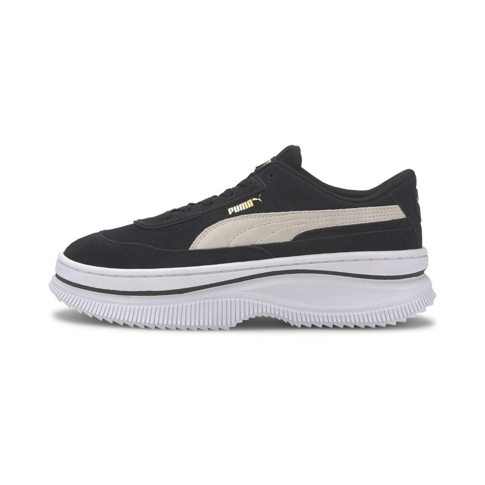 PUMA Deva Suede Wn's 女 厚底運動鞋 黑 37242303