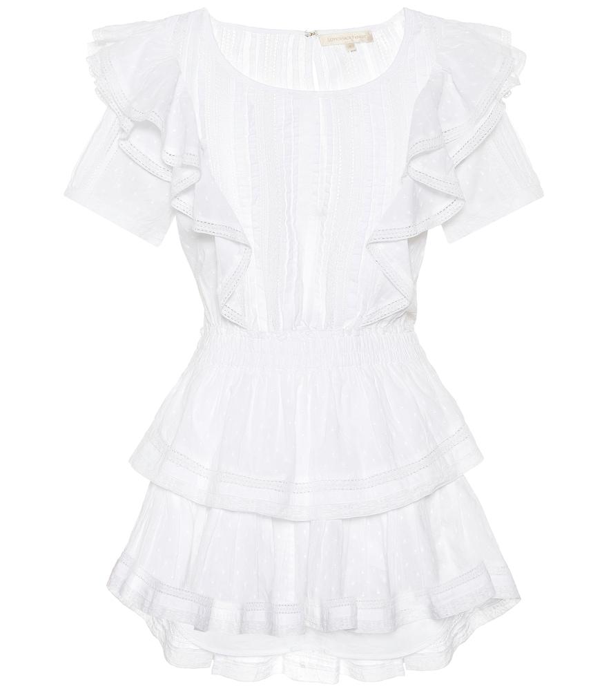 Natasha cotton minidress