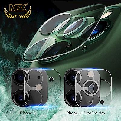 【膜帝斯MDX】IPHONE 11 晶透系列 3D立體玻璃鏡頭膜(二代)
