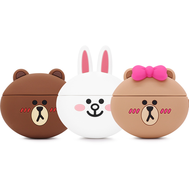 GARMMA LINE FRIENDS AirPods Pro 藍芽耳機盒保護套