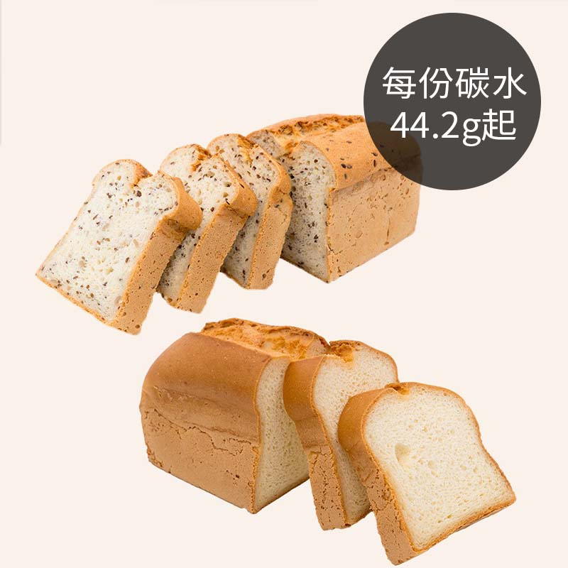 [BOSKE] 無小麥吐司 綜合組(原味550g*3+多榖650g*2入)(蛋奶素)