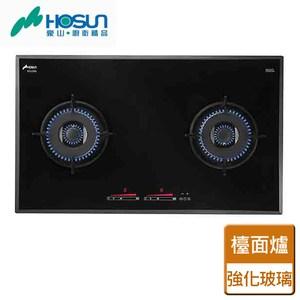 【豪山】雙口觸控歐化玻璃檯面爐-EG-2385-天然天然