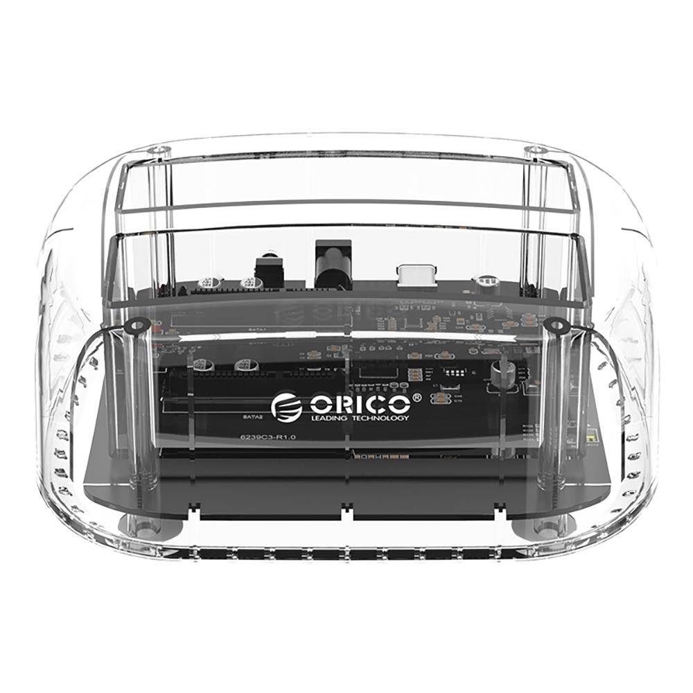 ORICO 2.5吋 3.5吋 USB3.1雙槽 硬碟對拷底座 6239C3-C