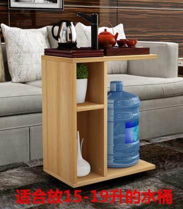 創意簡約小戶型茶幾可移動客廳功夫茶桌臥室邊角幾筆記本床頭桌子 LX
