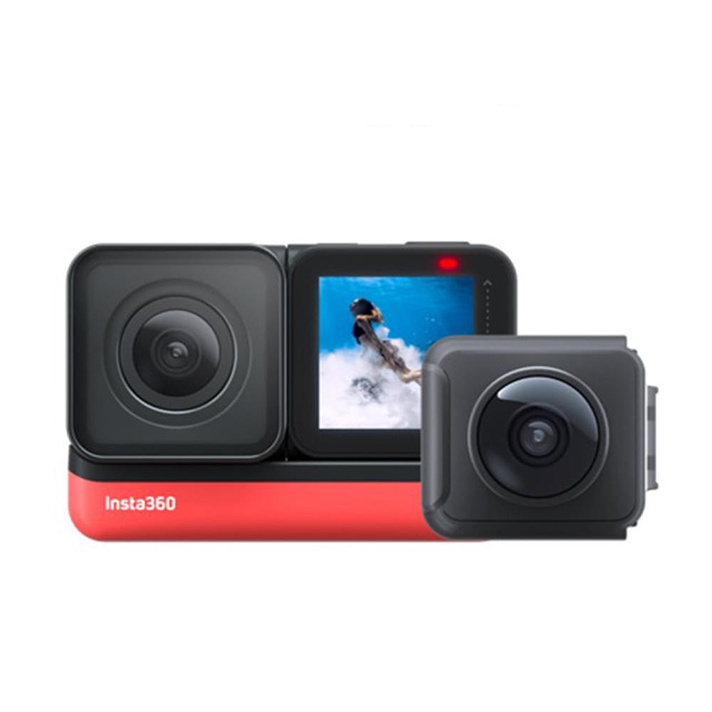 Insta360 One R 雙鏡頭(含4k及全景鏡頭)360度 相機 攝影機(ONER 公司貨)送128G+自拍桿+電池+雙座充