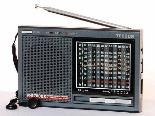 德生收音機R-9700DX老人便攜式二次變頻多波段收音機