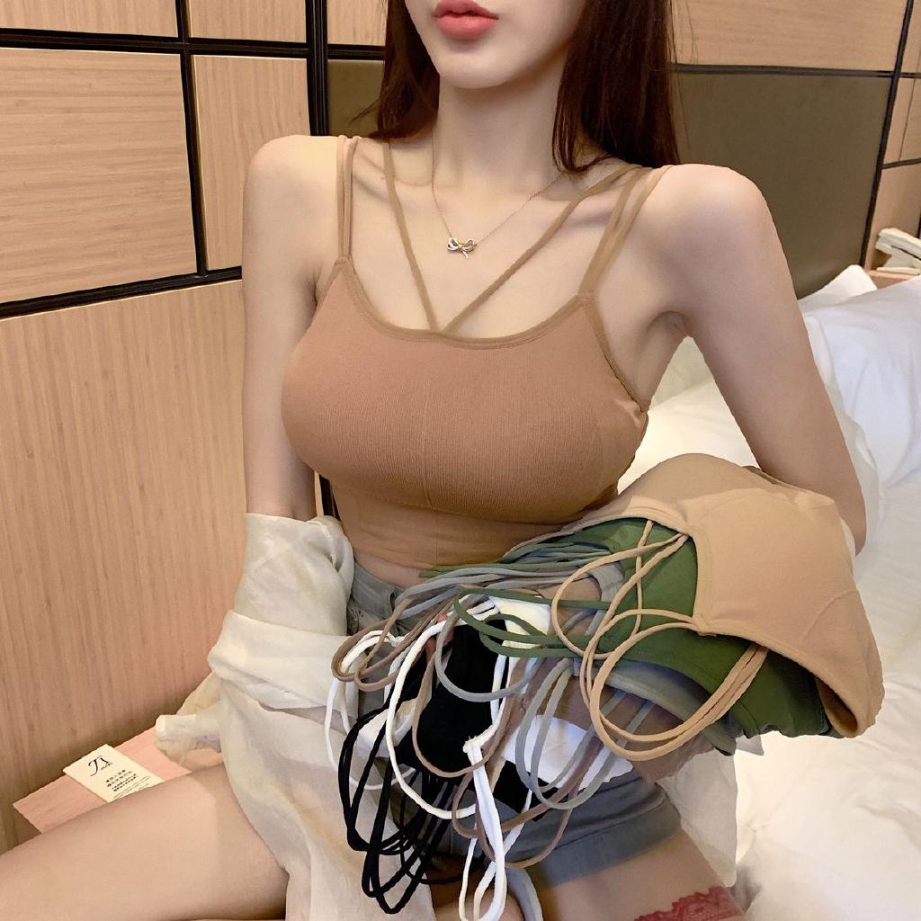 [免運]性感無鋼圈內衣 23306集中爆乳小可愛背心裹胸內衣女