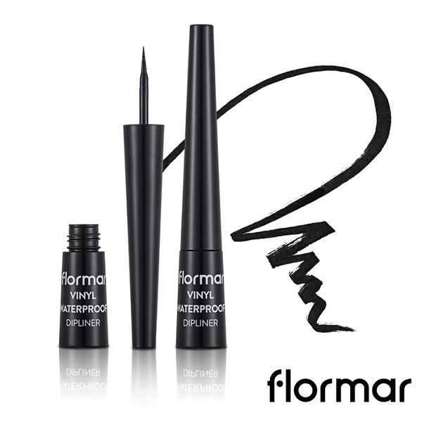 Flormar防水眼線液 001黑【康是美】